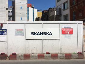 Skanska loses more money from European construction