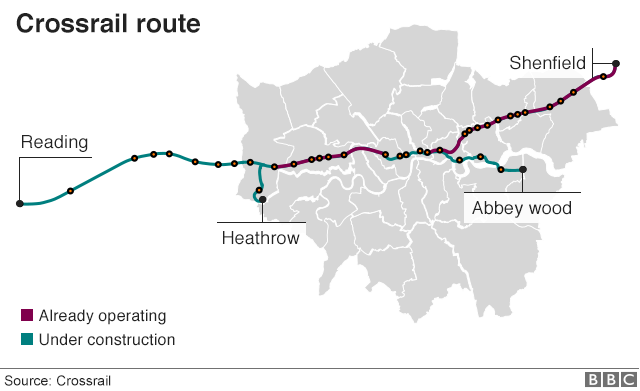 Crossrail cost tops £14bn with 16 months at least to go